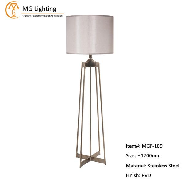MGF-109 Stainless Steel Floor Lamp