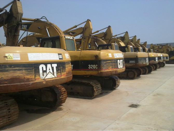 USED crawler Excavator,Used Excavator CAT 320C,345B,330D