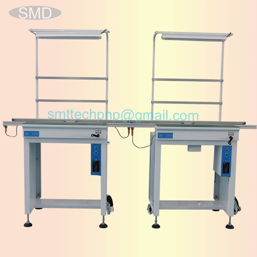 SMD pcb automatic conveyor between chip mounter and reflow oven