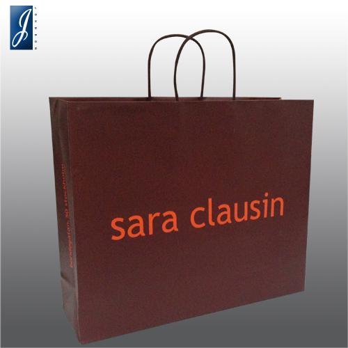 Customized medium shopping bag for sara