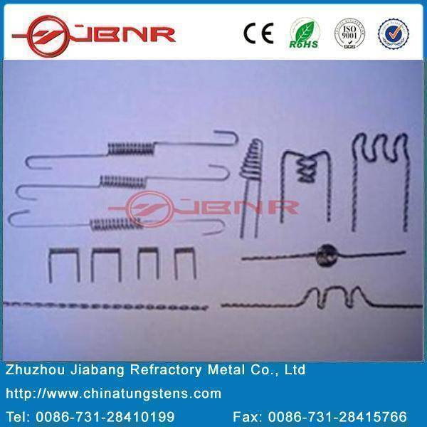 Tungsten Twisted Wire,Tungsten Filament,Tungsten Heater,Tungsten Evaporation Coil