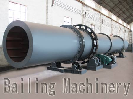 Various models of rotary drum dryer for sale