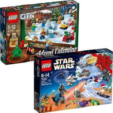 LEGO City Star Wars Friends Advent Calendars 60155 75184 - 2017