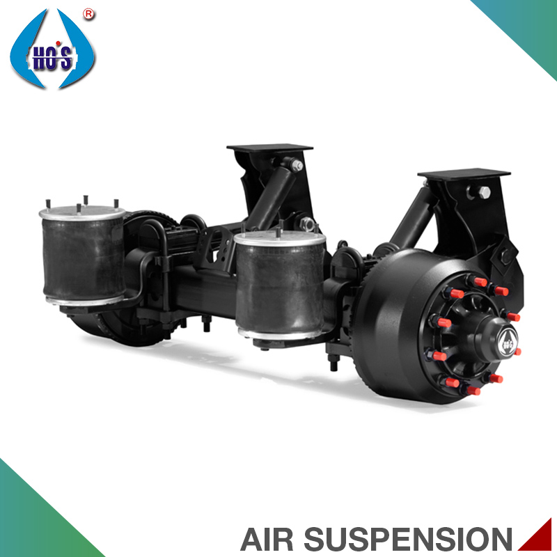 Chinese Supplier Air Suspension Types Trailer Axle Suspension