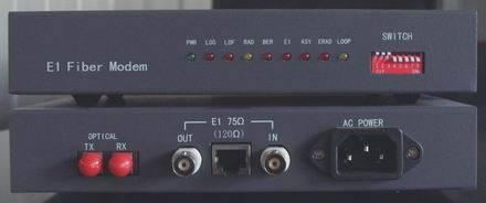 E1 To Fiber Optical Modem
