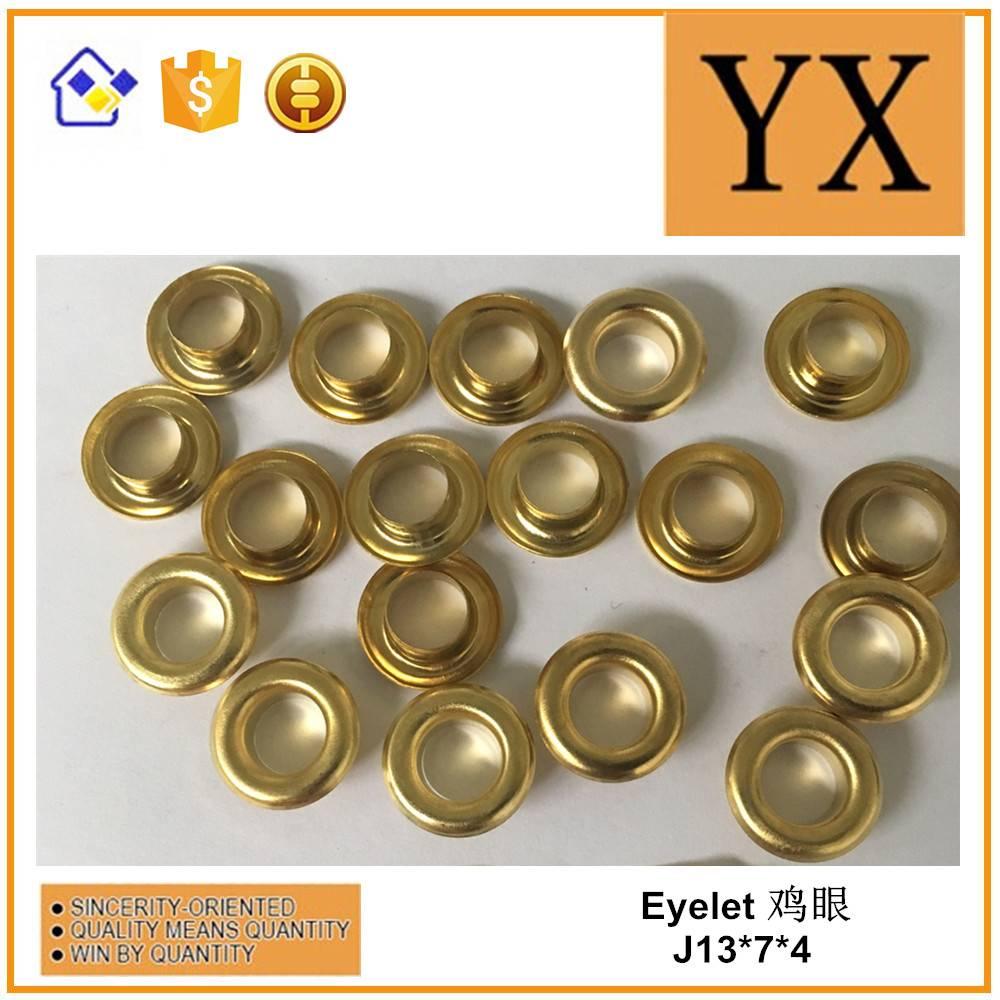 Brass grommet gold eyelet Golden Trade Supplier