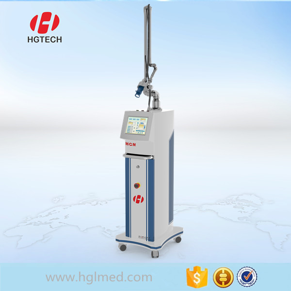 Non surgical method of skin tightening fractional co2 laser equipment for wrinkle remove