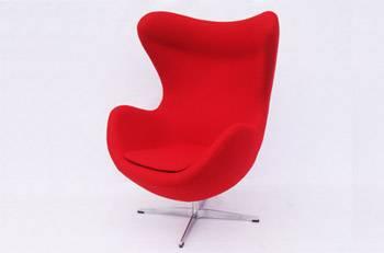 wholesale Arne Jacobsen Egg Chair/ fabric egg chair