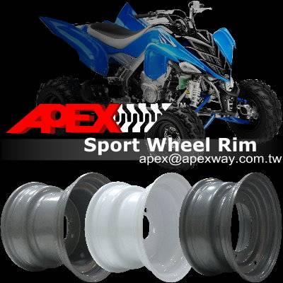 ATV Steel Wheel