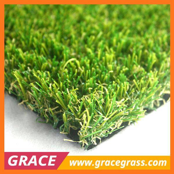 Cheap best sales V blade artificial grass for garden