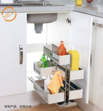 removable undersink caddy