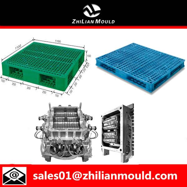 taizhou high quality custom mold double side plastic pallet moulds