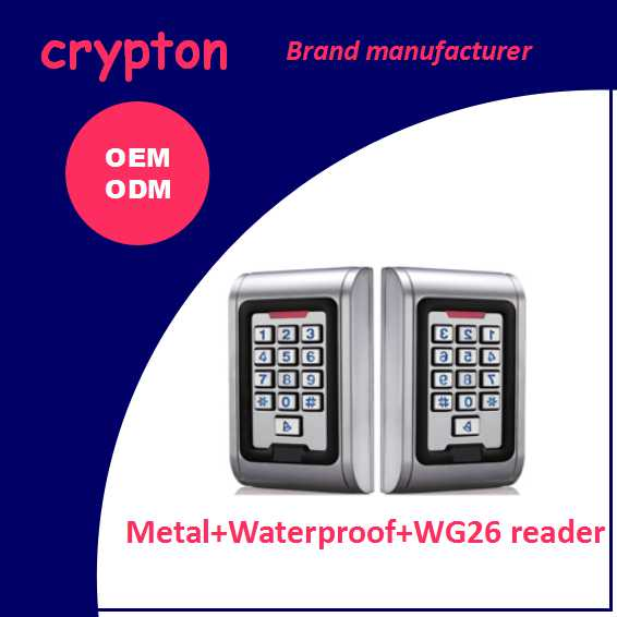 RFID door access control system access control keypads