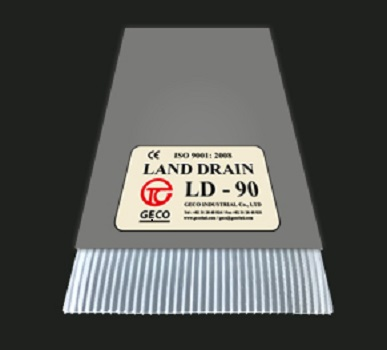Prefabricated Vertical Drain (Drain board, PVD)