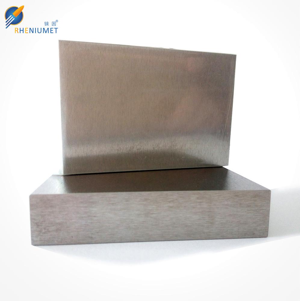 Tungsten rhenium sheet/plate