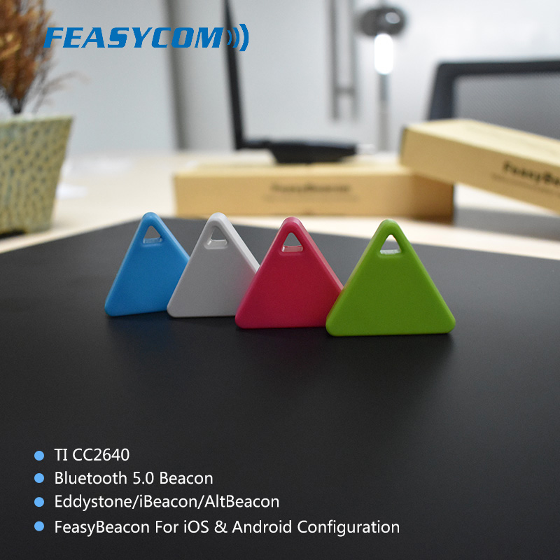 Cheap mini bluetooth 5.0 ble Android battery beacon with iBeacon,eddystone and Altbeacon