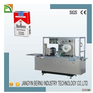 Full automatic cigarettes cellophane wrapping machine