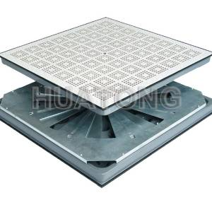 Hangtong perforated Panel with damper