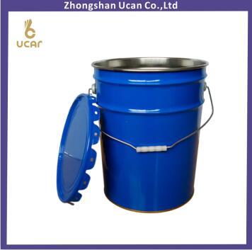 20liter Flower Lug Pail with Metal Handle, 5 gallon flower lug pail