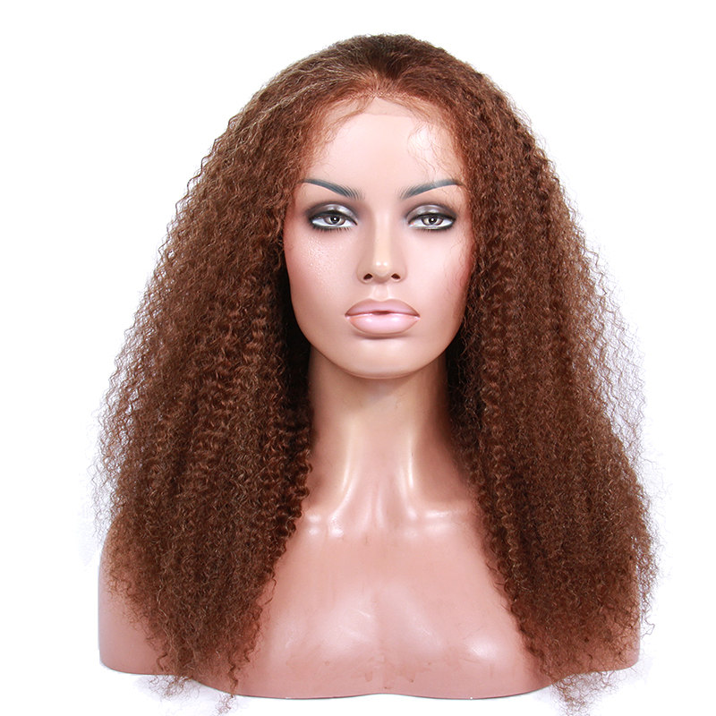 Big Discount Factory Wholesale 100% Unprocessed Virgin Human Hair Full Lace Wig