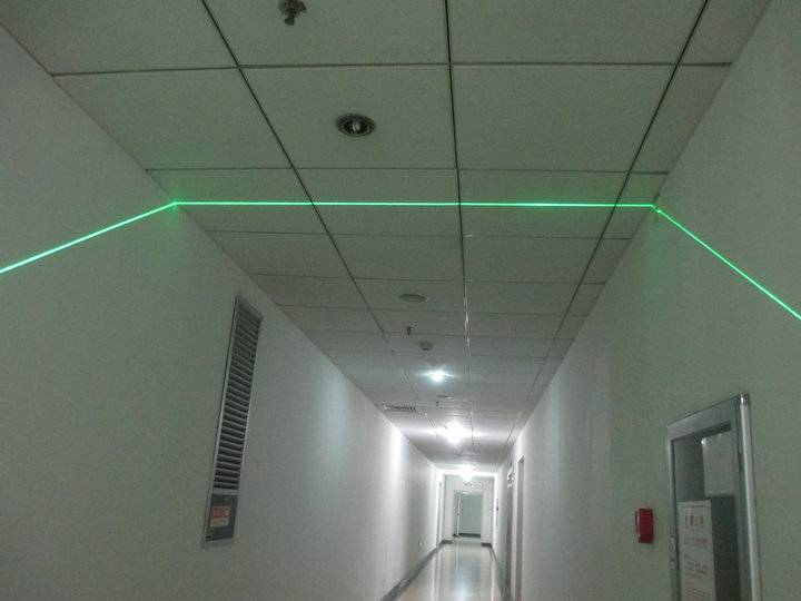 532nm 50mW green line laser module for wood cutting
