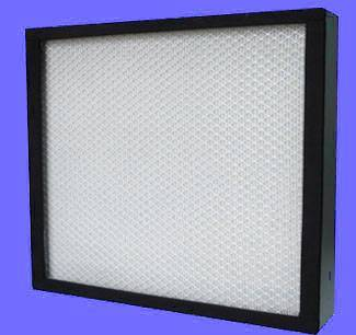 Mini-pleat HEPA filter