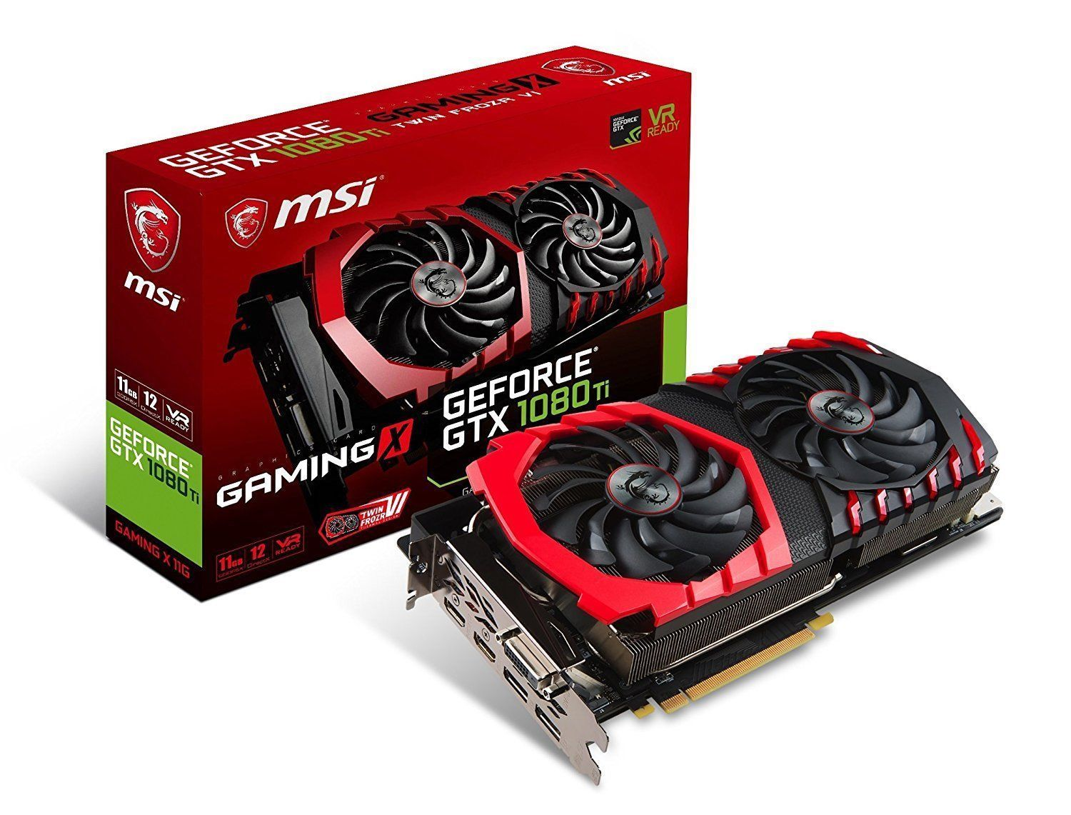 Hot MSI GeForce GTX 1080 Ti DirectX 12 GeForce GTX