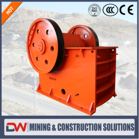 Industrial Used Aggregate Diamond Rock Crushed Stone Jaw Crusher Equipment Machine