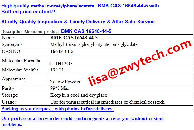 high purity CAS 4433-77-6 3-oxo-2-phenylbutanaMide pharmaceutical intermediates BMK lisa