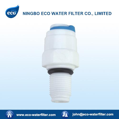 plastic RO water filter check valve