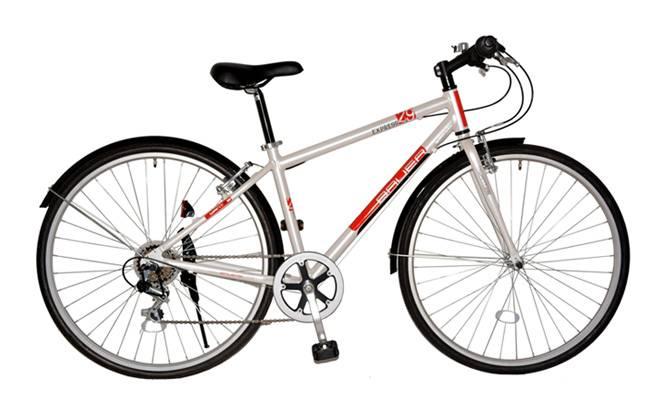 700c 6s Cross Bike Steel Frame Bicycle