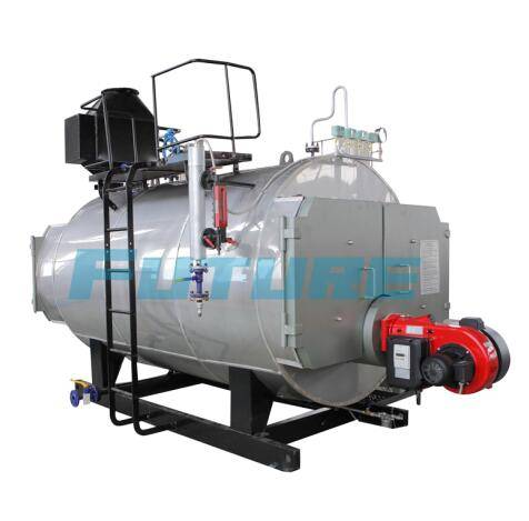 High Quality  Horizontal Oil (Gas) Fired Steam Boiler for Industrial
