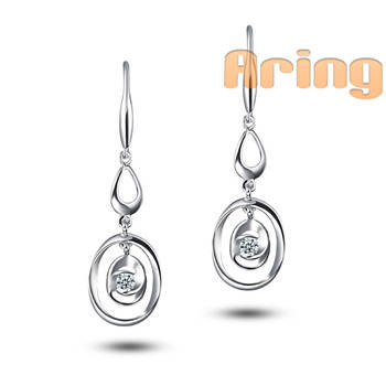 Wholesale 18k Gold Jewelry Diamond earrings solid gold jewelry