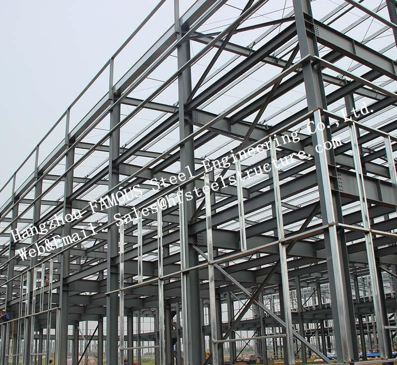 Low Medium And High Hise Multi-storey Steel building / steel prefab buildings