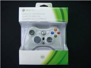 Wireless Controller for Xbox 360 White USD22.55/pcs