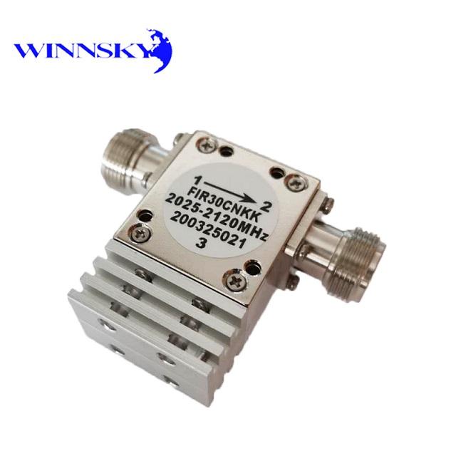WINNSKY 2025MHz~2120MHz High Power Radio Frequency RF Isolator N-Connector Coax 500W Pass Power