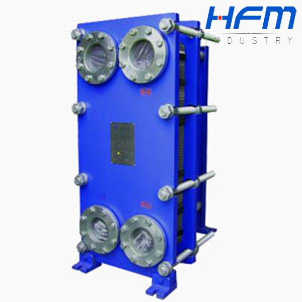 Industrial heater equipment plate heat exchanger