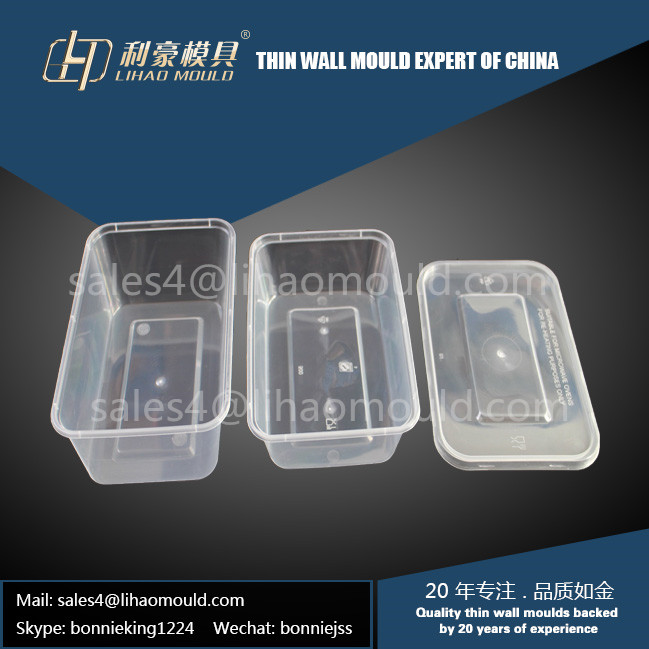 750ml and 1000ml disposable square container mould