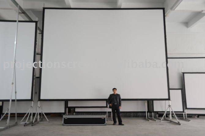 fast fold projection  screen