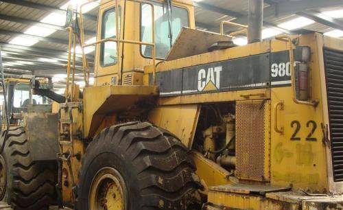 Used CAT 980F Wheel Loader