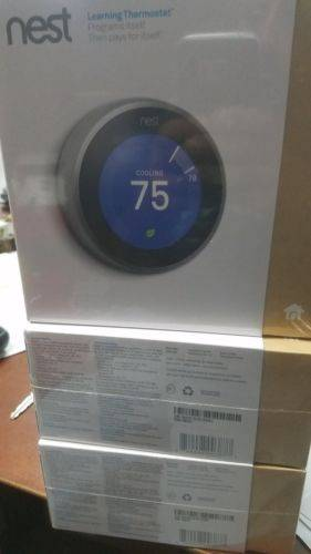 Nest Learning Thermostat 3rd Generation - T3007ES