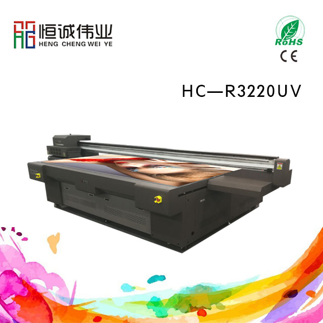 led uv faltbed printer HC-R3220UV Rioch industry printer head