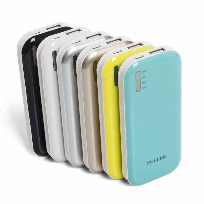PULLER POWER BANK  5000mAh li-polymer portable battery charger