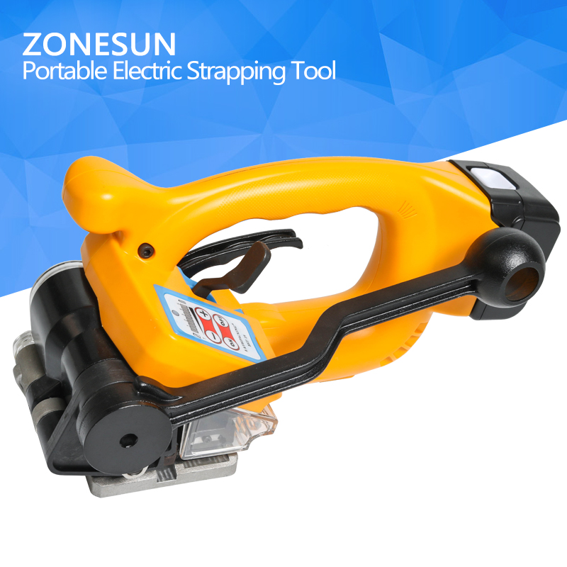 ZONESUN Cheapest Battery Power Strapping machine Electric Plastic Strapping machine ZX01