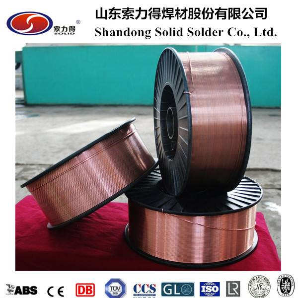 AWS ER70S-6/SG2 mig welding wire manufacture from China