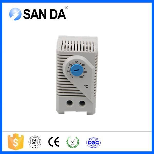 Large Setting Range DIN Rail Small Compact Thermostat