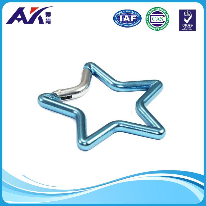 Aluminum Carabiner Creative Shape Snap Hook