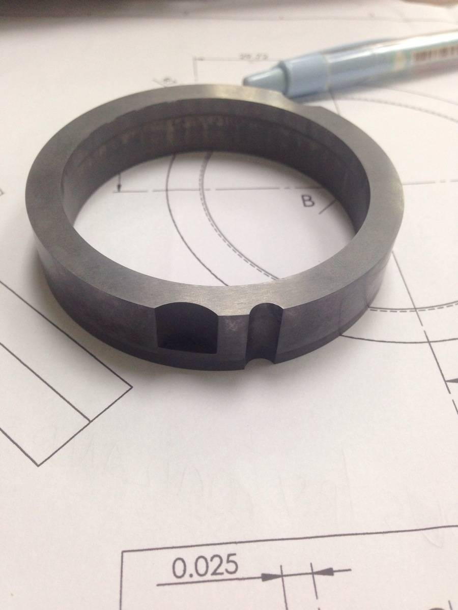 machinery precision carbide part
