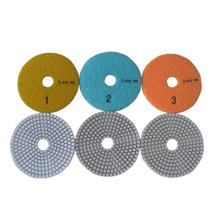 3 Step Wet Polishing Pad for Marble