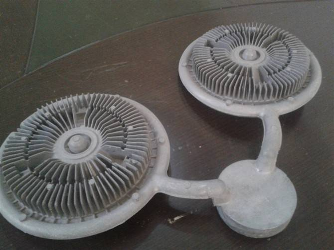 OEM custom aluminum ADC12 die casting heat sinks
